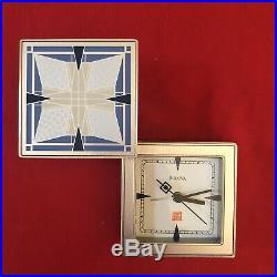 FRANK LLOYD WRIGHT Collection Thomas House Bulova Alarm Clock