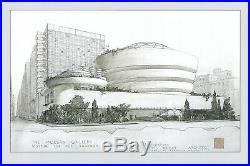 FRANK LLOYD WRIGHT Guggenheim 16 x 24 Giclee