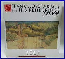 FRANK LLOYD WRIGHT MONOGRAPH in his Renderings vol. 12, 1887-1959