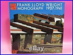 FRANK LLOYD WRIGHT MONOGRAPH in his Renderings vol. 6, 1937-1941