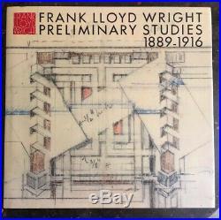 FRANK LLOYD WRIGHT PRELIMINARY STUDIES, vol. 9, 1889-1916 / A. D. A. EDITA / 1985