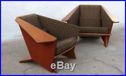 FRANK LLOYD WRIGHT Side Chairs