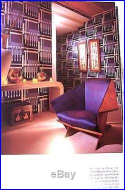 FRANK LLOYD WRIGHT, WALLCOVERINGS (POSSIBLE to FRAMe), TALIESIN WEST & BONUS BKS