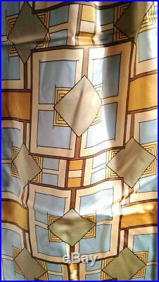 Final Imperial Hotel Silk 100 Scarf Frank Lloyd Wright