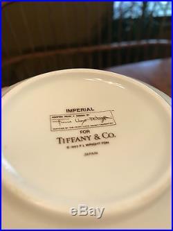 Frank LLoyd Wright Imperial Tiffany & Co Tea Set Salad Plates Bread Plates