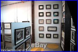 Frank Lloyd WRIGHT Lithograph #ed LIMITED Ed. Rose PAUSON House 1940 +FRAMING