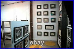 Frank Lloyd WRIGHT #ed LIMITED Ed. Frederick C. Robie House withFrame