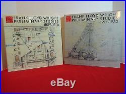 Frank Lloyd Wright 12 Vol. Monograph series, FIRST EDITION