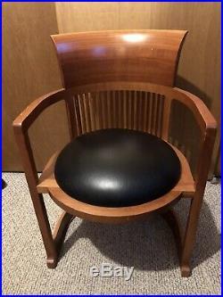 Frank Lloyd Wright 1986 Barrel Chair