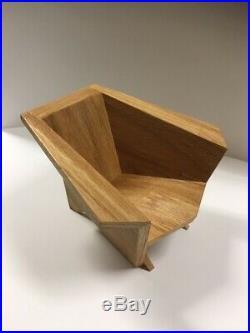 Frank Lloyd Wright 1/4 Scale Origami Chair