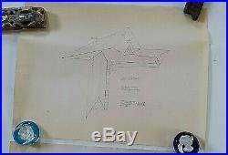 Frank Lloyd Wright 2 Original Working Blueprints Of Howard Anthony H0use C 1949