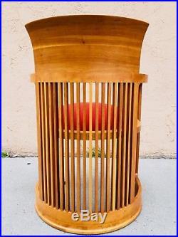 Frank Lloyd Wright 606 Barrel Chair by Cassina