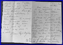 Frank Lloyd Wright / ALS Wright Oligvanna Lloyd Wright President FLW Foundation