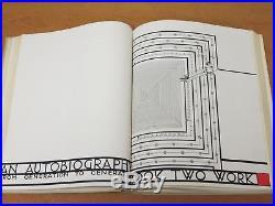 Frank Lloyd Wright, An Autobiography, 1933 edition