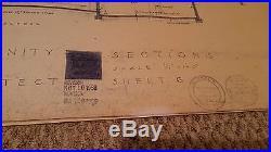Frank Lloyd Wright Architect Blueprint Greek Orthodox Church Artistic Sheet #6