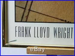 Frank Lloyd Wright Architect Taliesin West Frame Print 22 X 28'' Milton Stricker