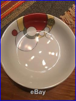 Frank Lloyd Wright Art Deco Porcelain Dishes 7-Piece Imperial Hotel Design