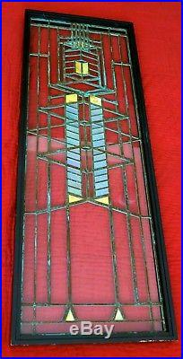 Frank Lloyd Wright Art Glass Window Robie House Design ll By Oakbrook Esser