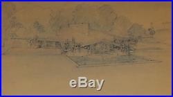 Frank Lloyd Wright Art Print Plate 76 Kindersymphonie, Oak Park, Illinois 1926