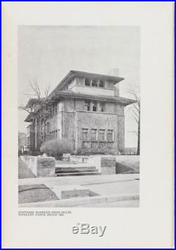 Frank Lloyd Wright Ausgeführte Bauten 1911 Architecture First Edition