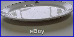 Frank Lloyd Wright Authentic Large 9 3/4 X 6 Platter From Midway Gardens 1914