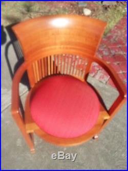 Frank Lloyd Wright Barrel Chair by Cassina mid century modern chair