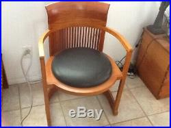 Frank Lloyd Wright Barrel Chair by Copeland Furniture