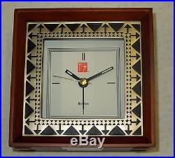 Frank Lloyd Wright Beth Sholom Alarm Clock B7766