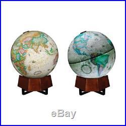 Frank Lloyd Wright Beth Sholom Illuminated 12 in. Tabletop Globe