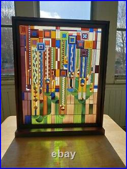 Frank Lloyd Wright Collection Saguaro Forms Art Glass tabletop