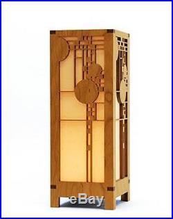 Frank Lloyd Wright Coonley Playhouse Lightbox Mini Accent Lamp, New, Free Shippi