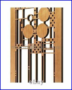 Frank Lloyd Wright Coonley Playhouse Wall Element Cherry