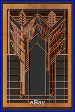 Frank Lloyd Wright DANA Double Sumac Window Design WALL Element 35.5h CHOICE