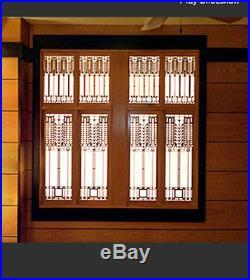 Frank Lloyd Wright DANA THOMAS House Window Design WALL Element 31.5h CHOICE