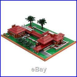 Frank Lloyd Wright Darwin D. Martin House Atom Brick Building Set -1961 pieces