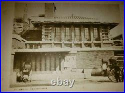 Frank Lloyd Wright Design Imperial Hotel Taisho Era Illustrations, drawings