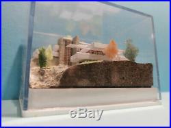 Frank Lloyd Wright FALLINGWATER Kaufmann architecture scal 1500 model miniature