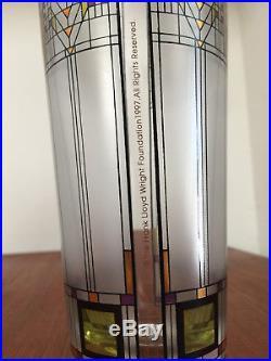 Frank Lloyd Wright Flw Glass Vase Design Vintage MID Century Modern Eames Era
