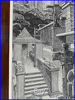 Frank Lloyd Wright Francois Schuiten Poster Print Art