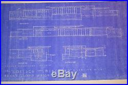Frank Lloyd Wright Goetsch Winckler House, E. Lansing, Michigan Complete Set