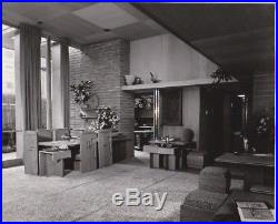 Frank Lloyd Wright Guggenheim Exhibition house Original Photo Pedro Guerrero 3