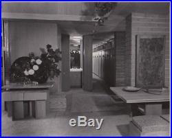 Frank Lloyd Wright Guggenheim Exhibition house Original Photo Pedro Guerrero 4