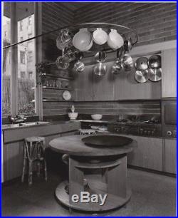 Frank Lloyd Wright Guggenheim Exhibition house Original Photo Pedro Guerrero 6