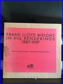Frank Lloyd Wright In His Renderings 1887-1959