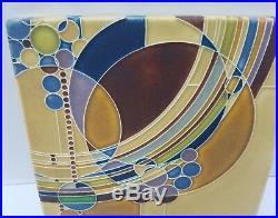 Frank Lloyd Wright MARCH BALLOONS Ceramic Trivet Wall Tile Motawi Tileworks MI 8