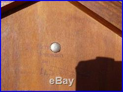 Frank Lloyd Wright Mahogany Lamp Table Vintage Henredon VG to Exc Condition