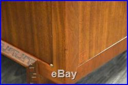Frank Lloyd Wright Mahogany Mid Century Modern Taliesin Credenza Cabinet
