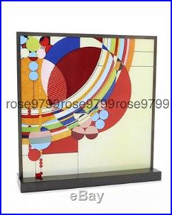 Frank Lloyd Wright March Balloons Stained Art Glass NIB
