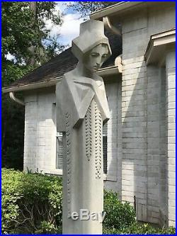 Frank Lloyd Wright Midway Gardens Sprite 66 Sandstone Outdoor Statue