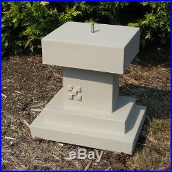 Frank Lloyd Wright Midway Gardens Sprite Pedestal Outdoor Garden Statue